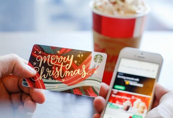 Starbucks giới thiệu thẻ và ứng dụng mới tiện ích trong mùa Giáng sinh
