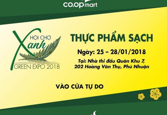 Green Expo 2018 – Hội chợ hàng tiêu dùng xanh, sạch, an toàn cho sức khoẻ gia đình
