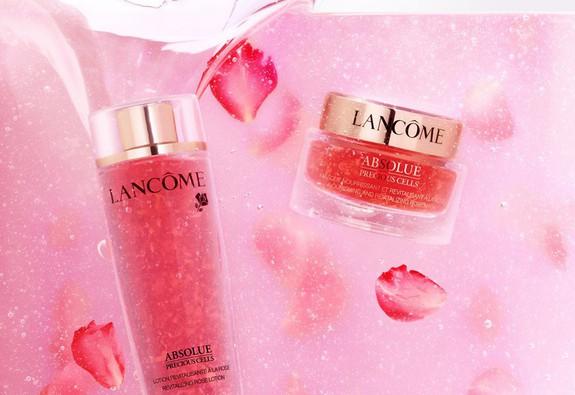 Lancôme Absolue Precious Cells Rose Drop – Đoá hồng trứ danh để tái sinh làn da