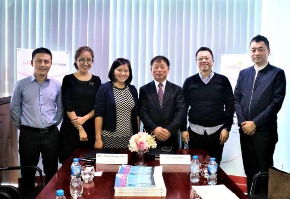 Hoàng Mai Media hợp tác với Tập đoàn truyền thông Hàn Quốc The Post Poem