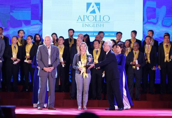 Apollo English – 12 năm liên tiếp đoạt Giải Rồng Vàng