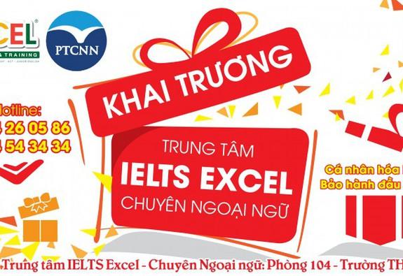 Khai trương trung tâm IELTS Excel – THPT Chuyên Ngoại Ngữ