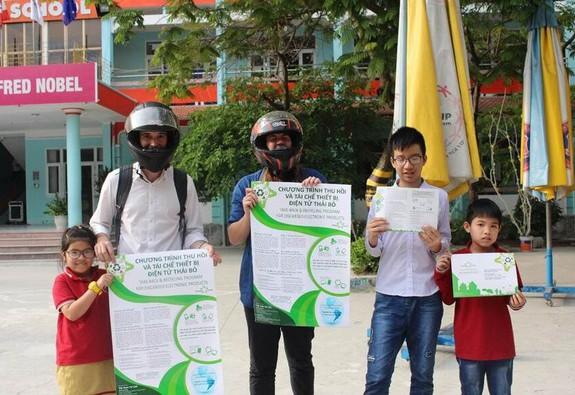 Việt Nam Tái Chế triển khai chương trình hợp tác với các trường đại học