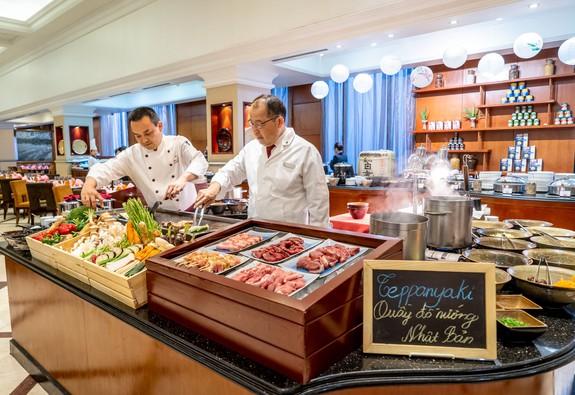 Ẩm thực Nhật Bản tại khách sạn Sheraton Hanoi