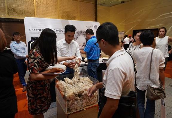 Woolmark tổ chức Ngày Nhận thức Len cừu Merino tại Hà Nội