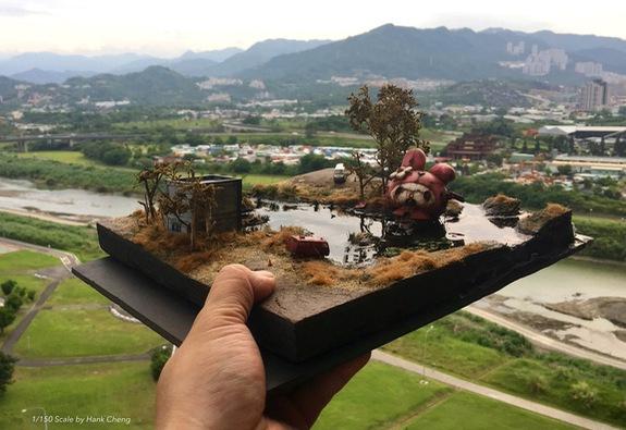 Cùng ngắm thế giới thu nhỏ kỳ diệu của Hank Cheng