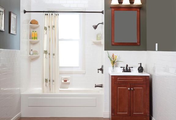 Một phòng tắm như spa tại gia