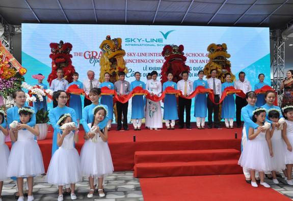 Khánh thành trường quốc tế Sky – Line Đà Nẵng và công bố khởi công dự án Sky – Line Hill Hội An
