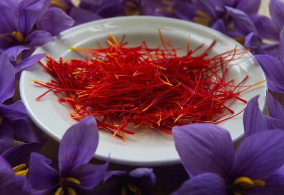 """Saffron – """"vàng đỏ"""" trong lãnh địa ẩm thực"""