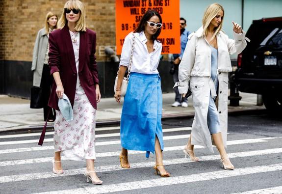 Thời trang đường phố tại New York Fashion week 2019