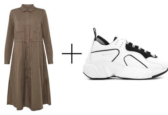8 bộ đôi váy và sneakers cho chuyến du lịch mùa thu