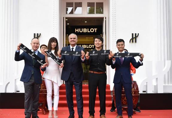 Hublot khai trương boutique đầu tiên tại Việt Nam cùng đại sứ thương hiệu Lang Lang