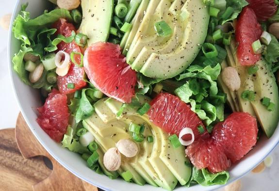 3 món salad bưởi cho thực đơn giảm cân