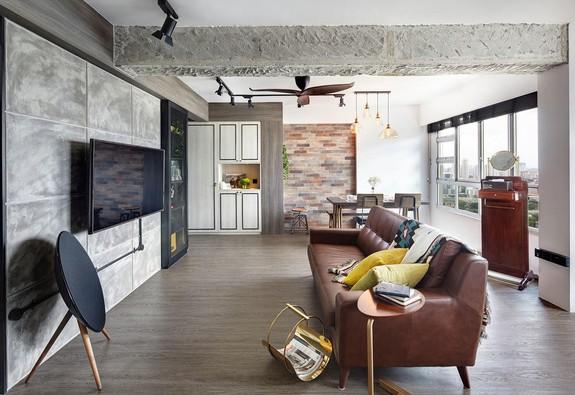 Có nên phá bỏ tường ngăn phòng khách và bếp?