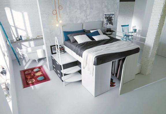Những thiết kế nội thất tiết kiệm không gian