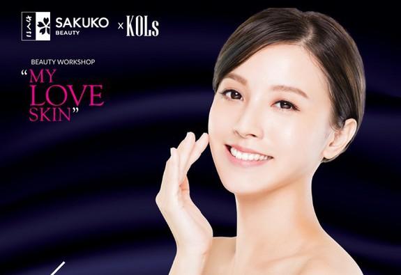 """Workshop chăm sóc da và trang điểm đẹp tự nhiên """"My love skin"""" cùng Makeup artist Henry Trần & Sakuko Beauty"""