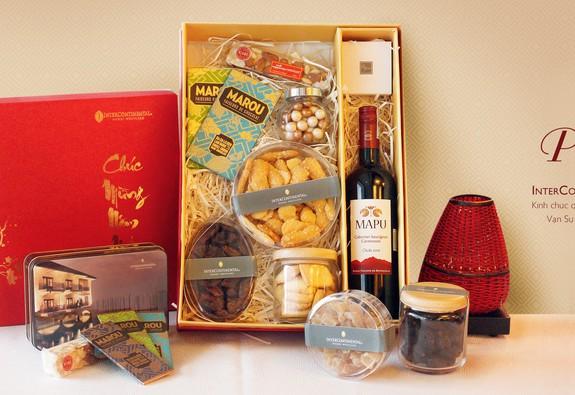 Hộp quà TẾT PHÚ QUÝ từ khách sạn InterContinental Hanoi Westlake