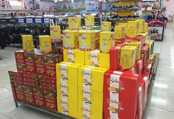 Bánh kẹo nhái tràn lan trên thị trường trước Tết nguyên đán 2019