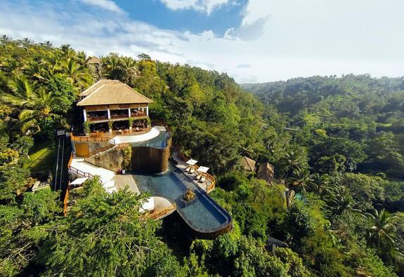 Một khu nghỉ dưỡng tuyệt đẹp giữa rừng rậm ở Bali