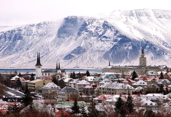 Giáng sinh như trong phim tại Reykjavik
