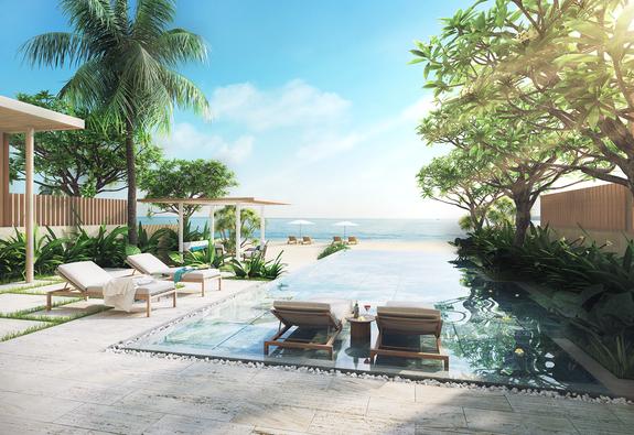 Cận cảnh thiên đường nghỉ dưỡng mới toanh: Meliá Hồ Tràm