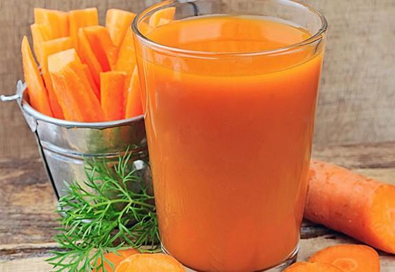 6 lợi ích của nước ép cà rốt