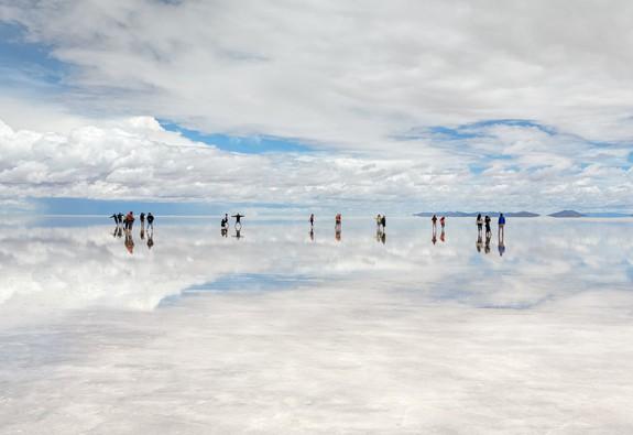 Check-in đường chân trời ở Bolivia