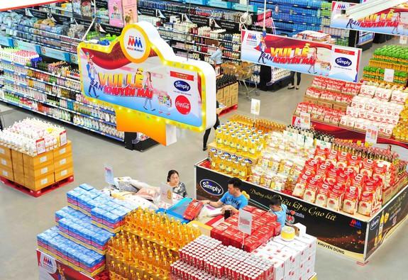 Nhiều mặt hàng thực phẩm được khuyến mãi nhân dịp Quốc khánh