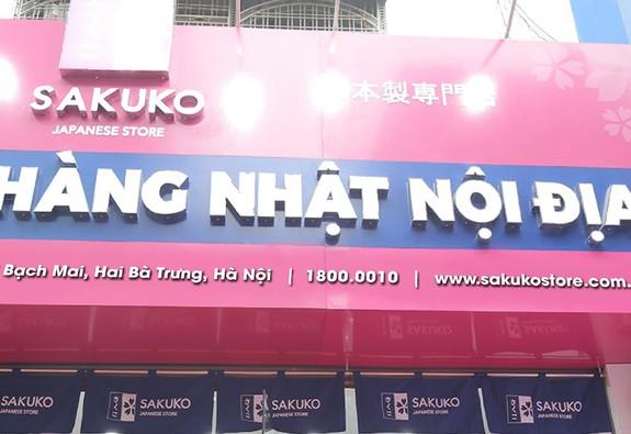 Khai trương siêu thị hàng Nhật nội địa Sakuko Japanese Store tại 315 Bạch Mai