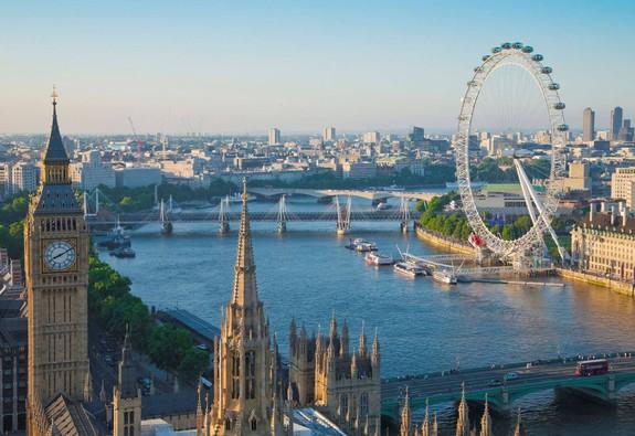 Ngắm London từ hai bờ sông Thames