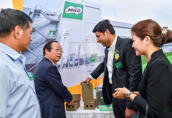 Nestlé Việt Nam cam kết giảm thiểu những tác động tới môi trường