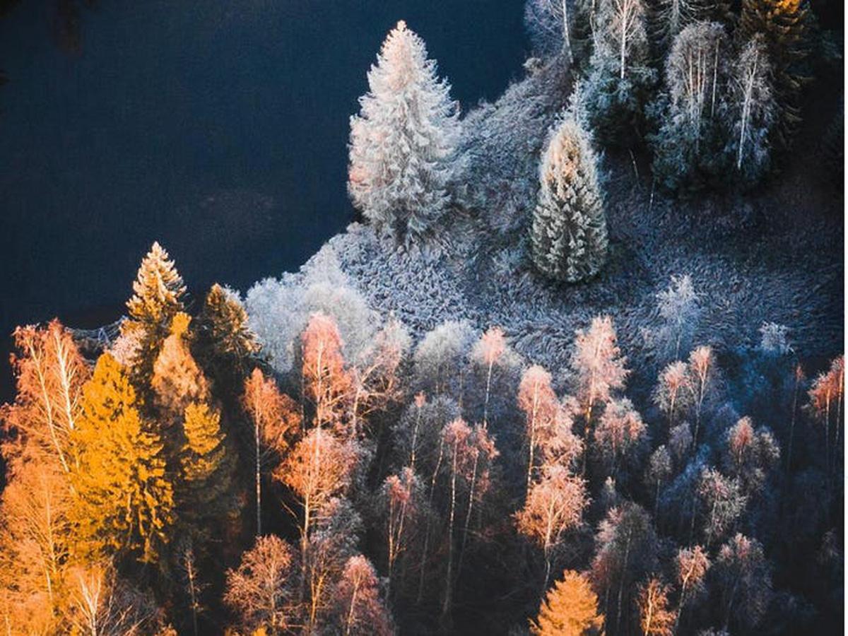 65 bức ảnh ghi lại vẻ đẹp của thế giới từ trên không