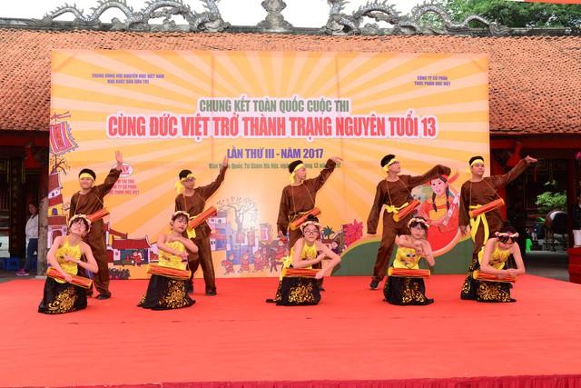 Chung kết toàn quốc Cùng Đức Việt trở thành Trạng Nguyên tuổi 13 Lần thứ 3 – 2017 - Ảnh 2.