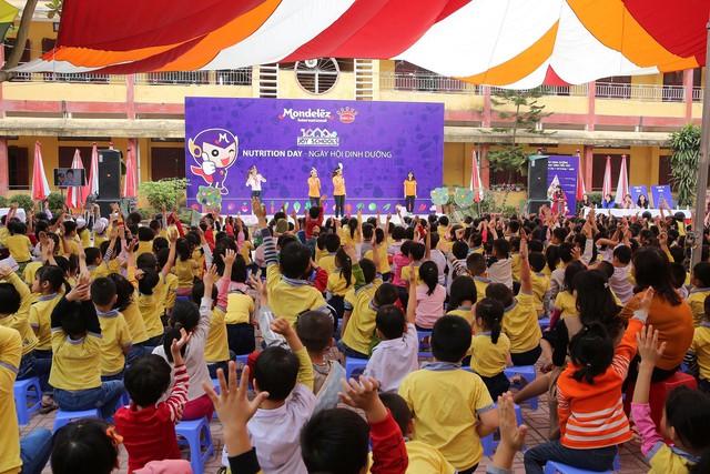 Mondelez Kinh Đô triển khai dự án dinh dưỡng Vui tới trường - Ảnh 1.