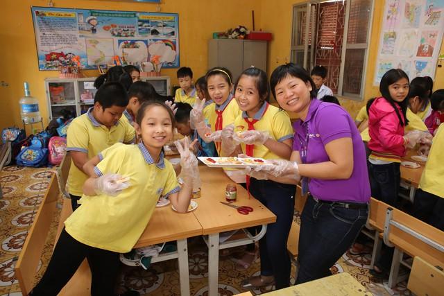 Mondelez Kinh Đô triển khai dự án dinh dưỡng Vui tới trường - Ảnh 2.