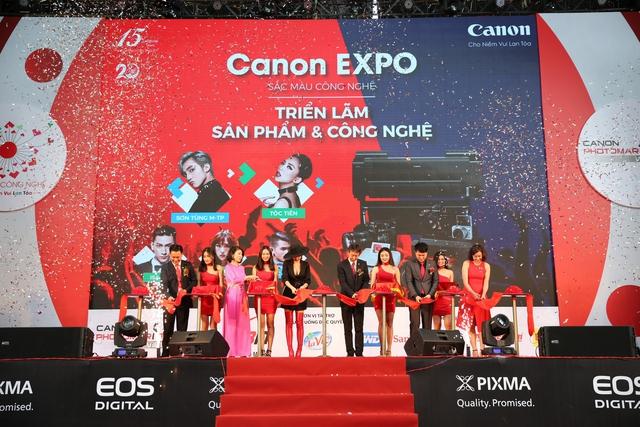 CANON EXPO 2017: TRIỂN LÃM SẮC MÀU CÔNG NGHỆ - Ảnh 4.
