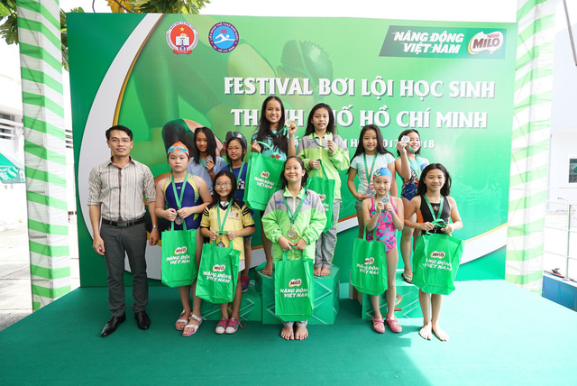 Festival Bơi lội học sinh TP.HCM đã đi đến vòng chung kết - Ảnh 2.