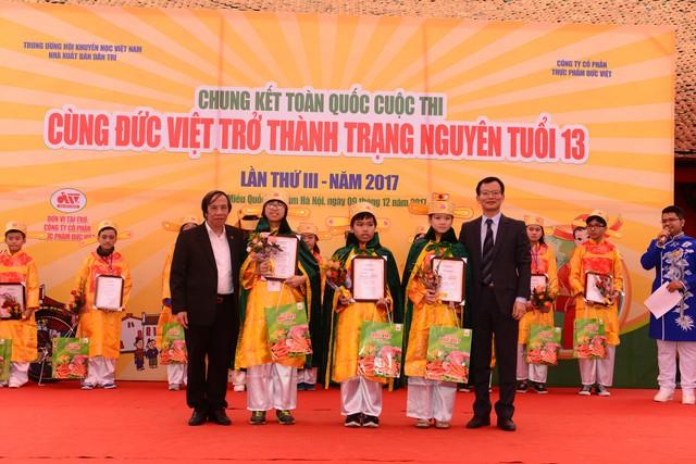 Chung kết toàn quốc Cùng Đức Việt trở thành Trạng Nguyên tuổi 13 Lần thứ 3 – 2017 - Ảnh 3.