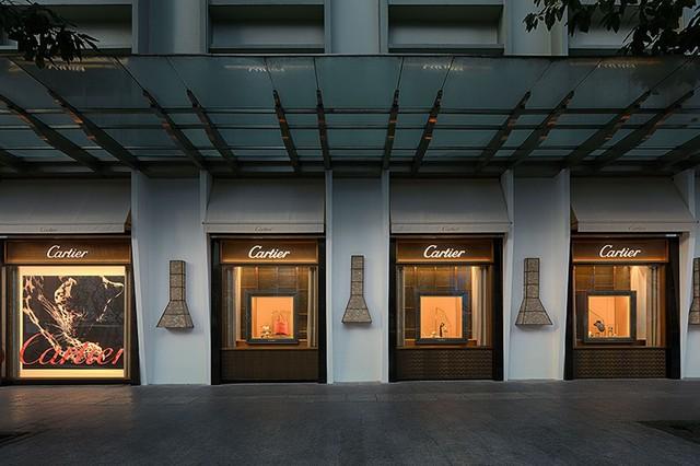 Cartier khai trương trở lại tại khách sạn Rex TPHCM - Ảnh 1.