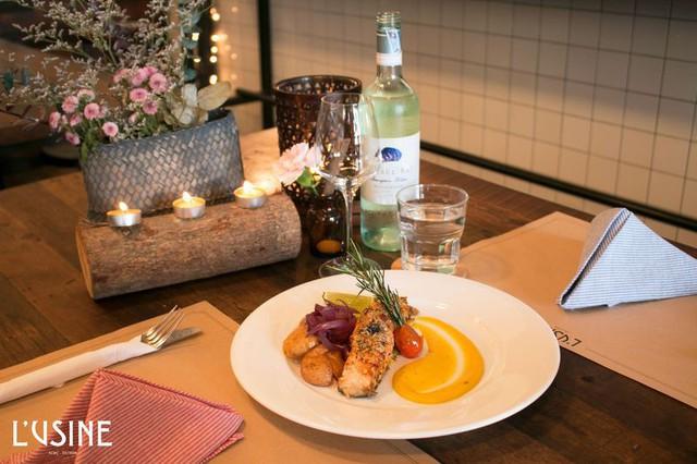 L'Usine Eatery – Điểm đến cho một bữa tối thân mật mà lãng mạn  - Ảnh 5.