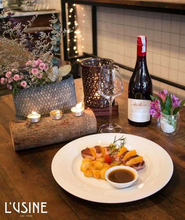 L'Usine Eatery – Điểm đến cho một bữa tối thân mật mà lãng mạn  - Ảnh 3.