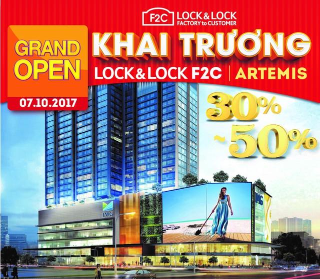 LOCK&LOCK KHAI TRƯƠNG CỬA HÀNG F2C ĐẦU TIÊN TẠI HÀ NỘI - Ảnh 1.