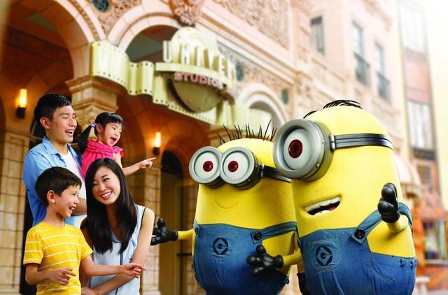 """""""Vui quậy"""" hết cỡ cùng Minion tại công viên Universal Studios Singapore - Ảnh 1."""