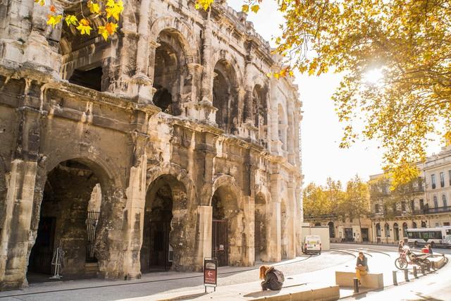 Mùa thu vàng mơ mộng ở Nîmes - Ảnh 19.