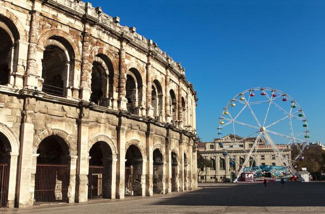 Mùa thu vàng mơ mộng ở Nîmes - Ảnh 3.