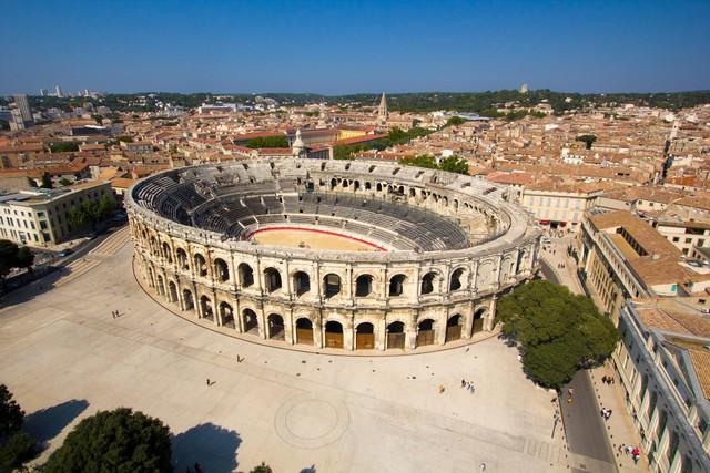 Mùa thu vàng mơ mộng ở Nîmes - Ảnh 7.