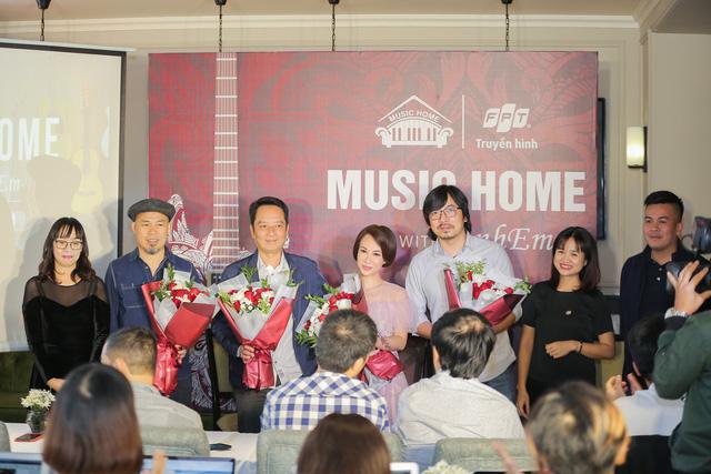 Ra mắt series âm nhạc Music Home trên Truyền hình FPT - Ảnh 1.
