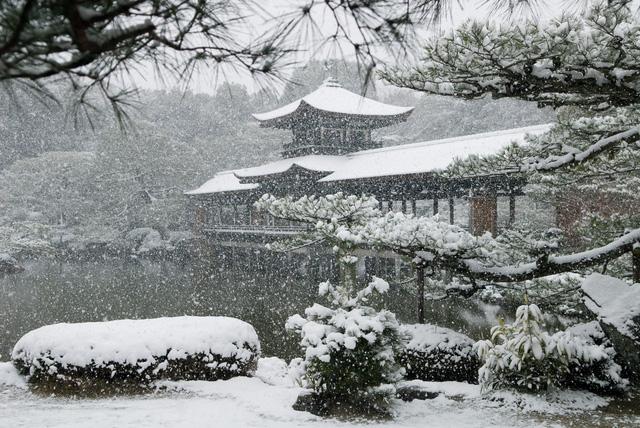 Kyoto mùa đông: cảnh đẹp cố đô chìm trong tuyết trắng - Ảnh 9.