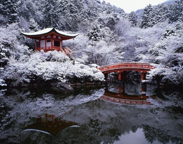 Kyoto mùa đông: cảnh đẹp cố đô chìm trong tuyết trắng - Ảnh 15.