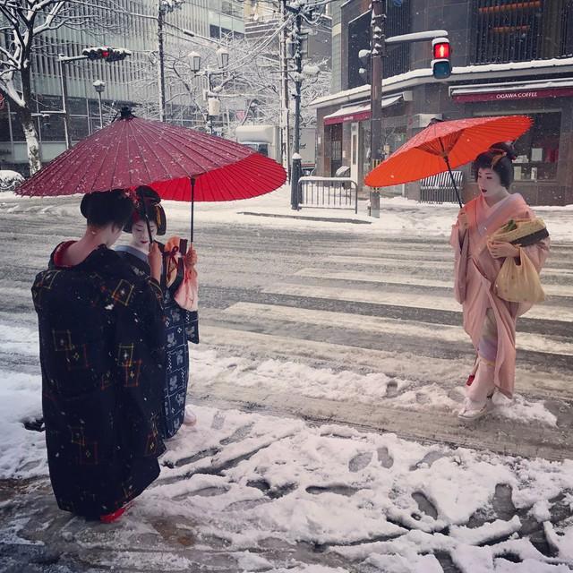 Kyoto mùa đông: cảnh đẹp cố đô chìm trong tuyết trắng - Ảnh 22.